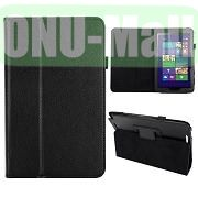 Hot Selling Lichee Texture Leather Case for ASUS Vivo Tab Note 8M80TA ( Black)