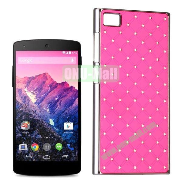 Shiny Diamond Electroplated PC Hard Case for Miui MI3 (Pink)