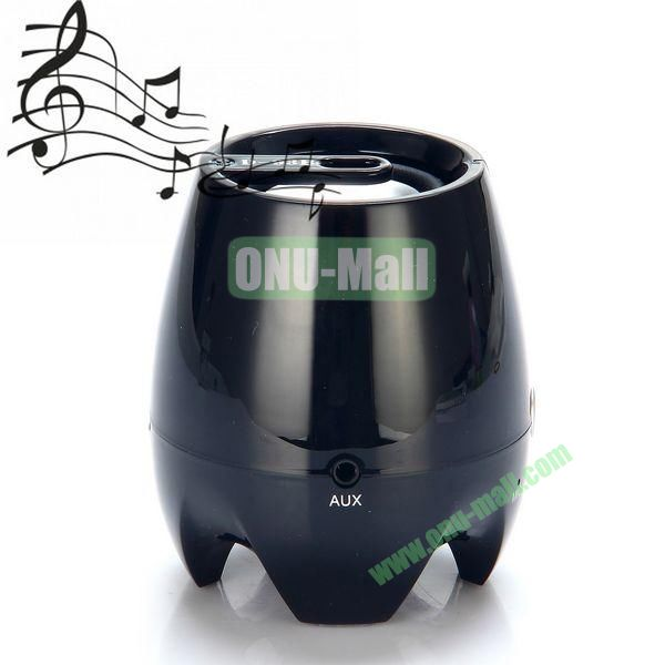 D-93B HIFI Stereo Wireless Portable Handfree Bluetooth Speaker Support TF (Black)