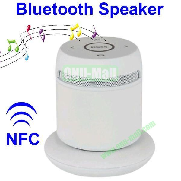 Asimom3 DOSS DS 1189  V2.1 Wireless Charging Bluetooth Speaker Support NFC Function (White)