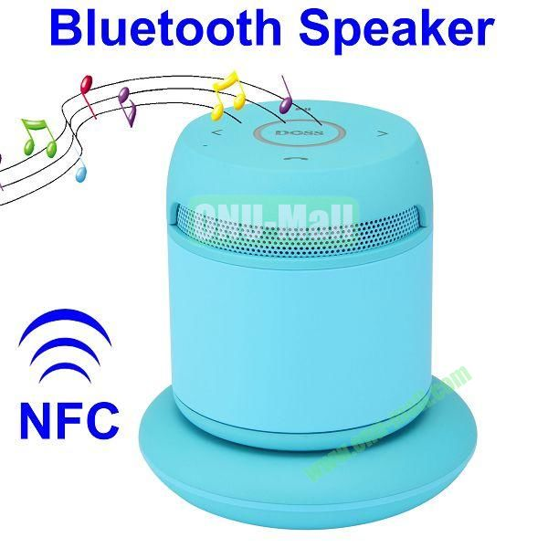 Asimom3 DOSS DS 1189  V2.1 Wireless Charging Bluetooth Speaker Support NFC Function (Blue)