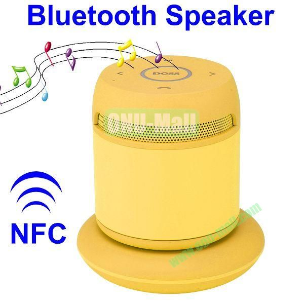 Asimom3 DOSS DS 1189  V2.1 Wireless Charging Bluetooth Speaker Support NFC Function (Yellow)