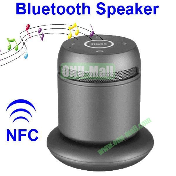 Asimom3 DOSS DS 1189  V2.1 Wireless Charging Bluetooth Speaker Support NFC Function (Black)