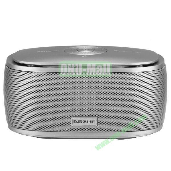 Portable Mini Waterproof Bluetooth Speaker With USB Cable (Gray)