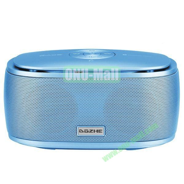 Portable Mini Waterproof Bluetooth Speaker With USB Cable (Blue)