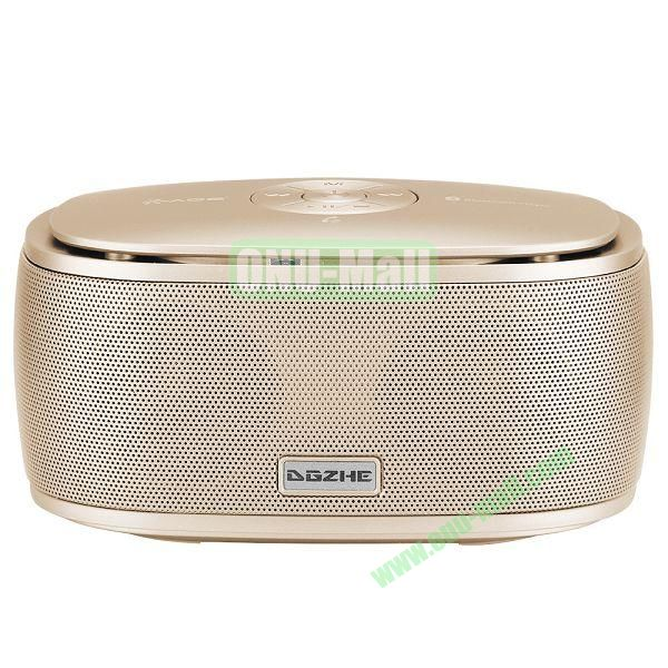 Portable Mini Waterproof Bluetooth Speaker With USB Cable (Light Yellow)