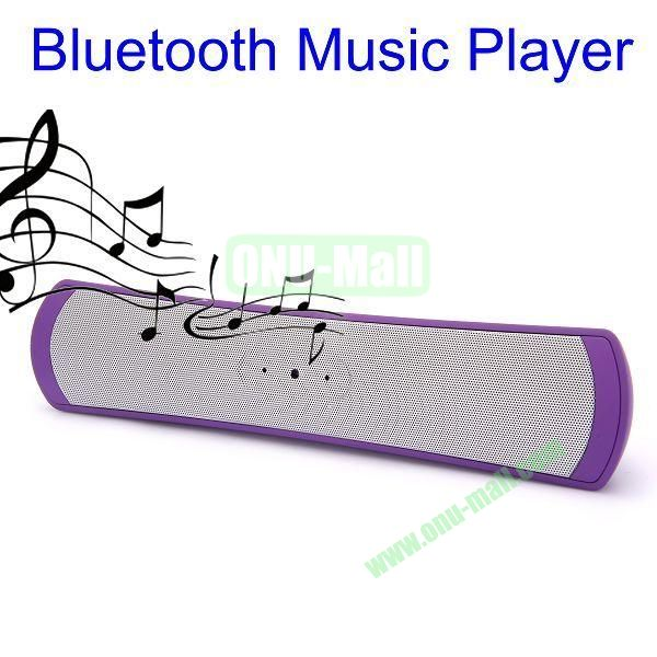 Portable Active Bluetooth Speaker Music Player (Purple)