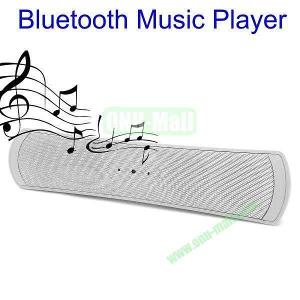 Portable Active Bluetooth Speaker Music Player (White)