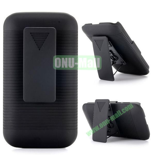 2 in 1 Belt Clip Detachable Holster Combo PC Hard Case for Motorola Moto E XT1021 XT1022 XT 1025 with Kickstand