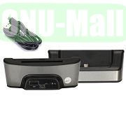 Data Sync Charger Cradle Dock for LG Optimus G Pro 2 F350 D837 D838 with Spare Battery Slot (Grey)