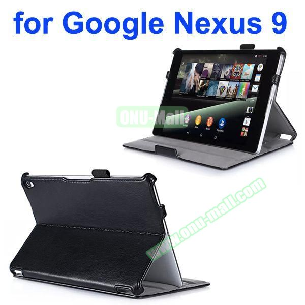 Thermoforming Design Flip Leather Case for Google Nexus 9 with Filco