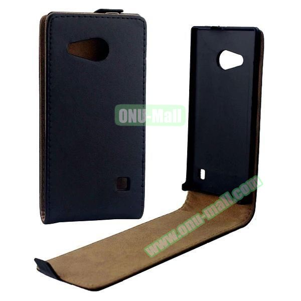 Up and Down Flip Pattern Korean Leather Case for Nokia Lumia 730