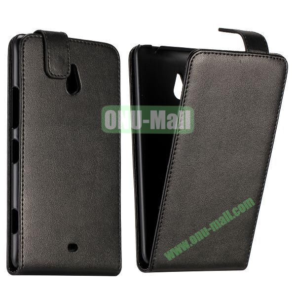 Commercial Up and Down Pattern Flip Leather Case for Nokia Lumia 1320