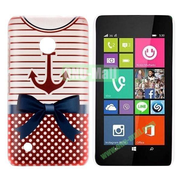 Red-T Shirt Pattern Hard Case for Nokia Lumia 530