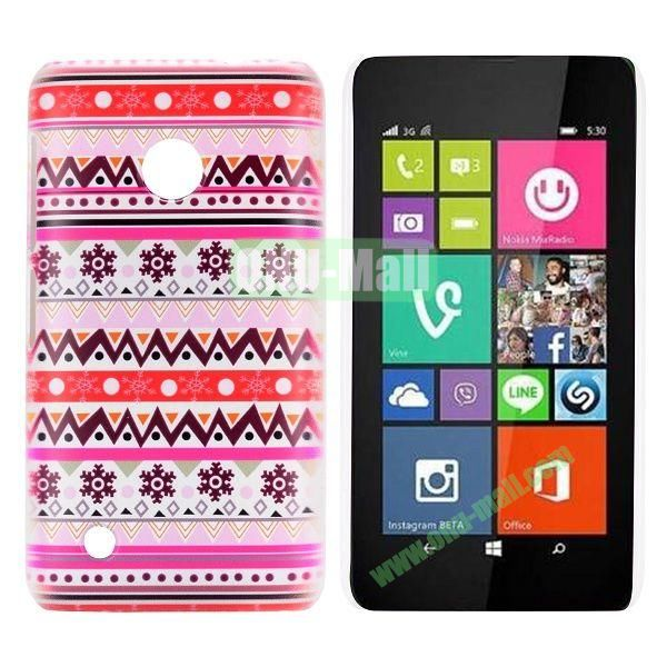 Pretty Tribal Style Pattern Hard Case for Nokia Lumia 530