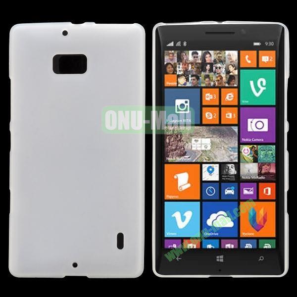 Soft Hand Feeling Soild Color TPU Case For Nokia Lumia 930 (White)