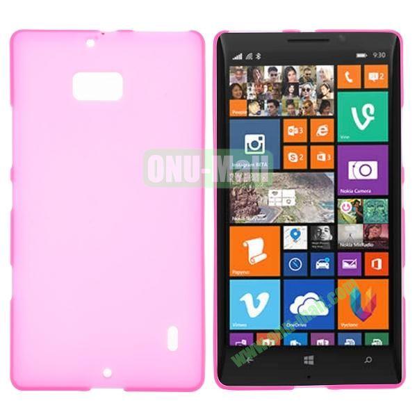 Soft Hand Feeling Soild Color TPU Case For Nokia Lumia 930 (Rose)