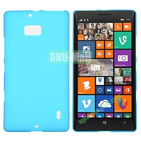 Soft Hand Feeling Soild Color TPU Case For Nokia Lumia 930 (Baby Blue)