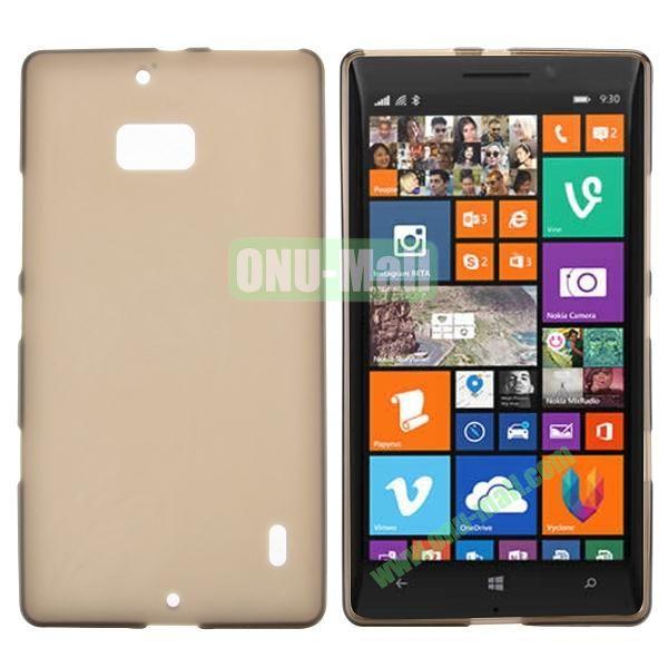 Soft Hand Feeling Soild Color TPU Case For Nokia Lumia 930 (Brown)