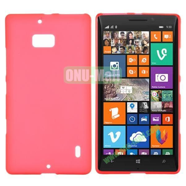 Soft Hand Feeling Soild Color TPU Case For Nokia Lumia 930 (Red)