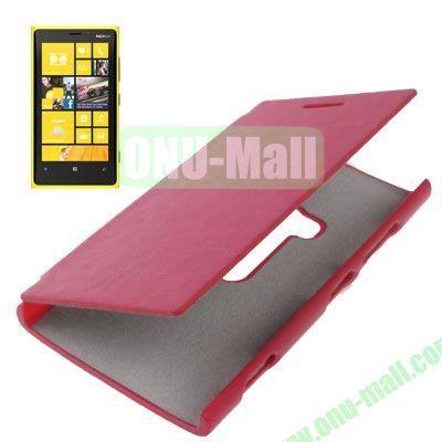 Horizontal Flip Leather Case for Nokia Lumia 920 (Rose)
