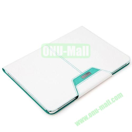 ROCK Excel Series Flip Leather Cover for Samsung Galaxy Note 10.1(2014 Edition) P600 (White)