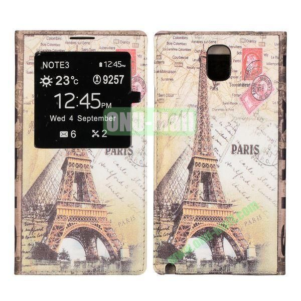Battery Back Cover Case for Samsung Galaxy Note 3N9000 (Eiffel Tower Pattern)