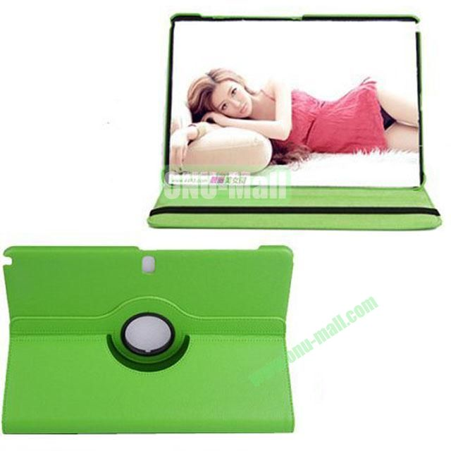 360 Rotating Litchi Texture Leather Smart Cover for Samsung Galaxy Note Pro 12.2 P900 with Stand (Green)