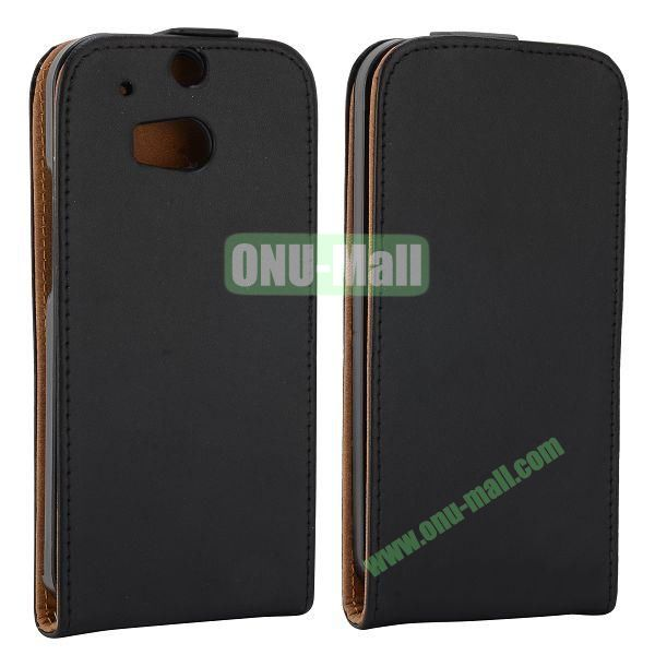 Hot Sell Vertical Flip Leather Case for HTC One 2  M8