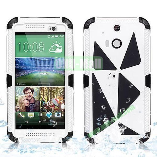 Hot Sale High Quality Waterproof Case  for HTC One M8 One 2 (White)
