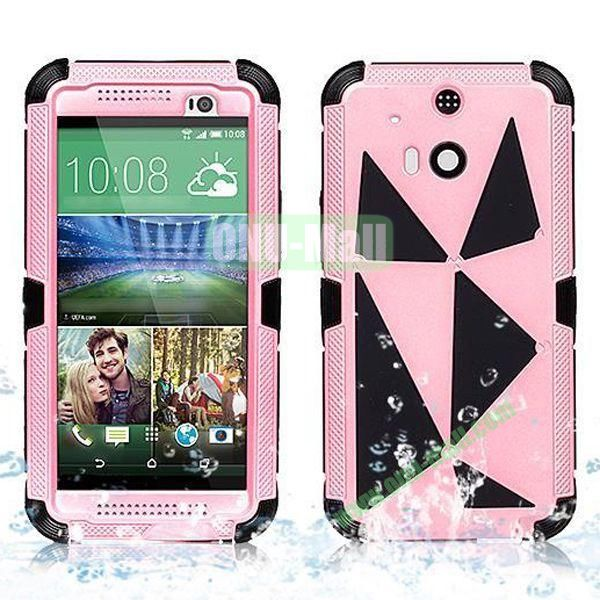 Hot Sale High Quality Waterproof Case  for HTC One M8 One 2 (Pink)