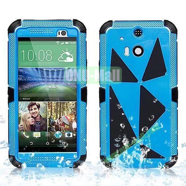 Hot Sale High Quality Waterproof Case  for HTC One M8 One 2 (Blue)