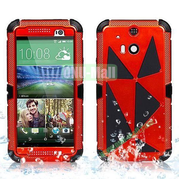 Hot Sale High Quality Waterproof Case  for HTC One M8 One 2 (Orange)