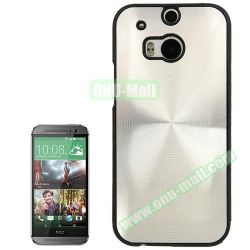 CD Texture Plastic Hard Case for HTC One M8 (Silvery)