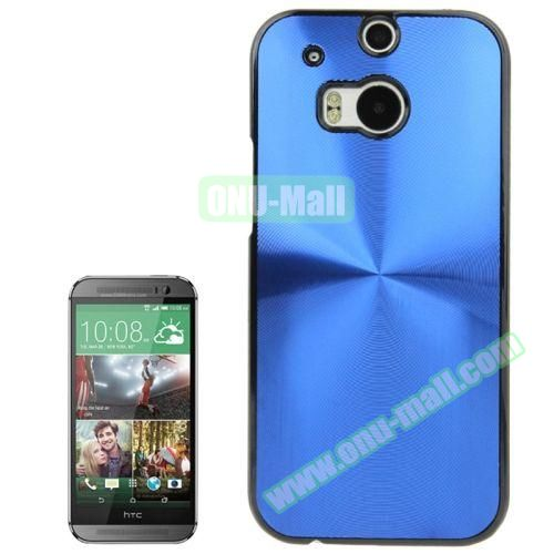 CD Texture Plastic Hard Case for HTC One M8 (Blue)