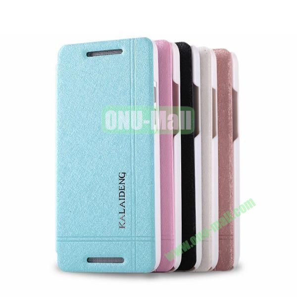 KLD Slim Iceland Series Flip Leather Case Cover for HTC One Mini  M4  401e