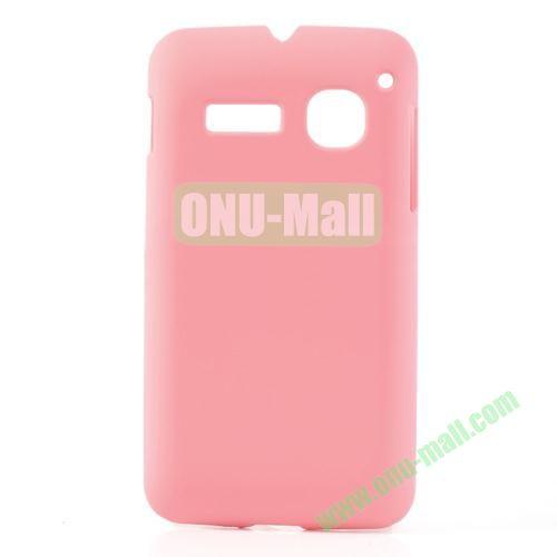 Ultraslim Oil Coated Hard Case For Alcatel One Touch SPOP OT4030D OT4030 (Pink)