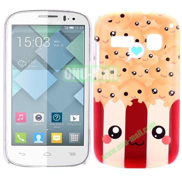 Special Pattern PC Hard Case for Alcatel One Touch Pop C3 (Cute Cartoon)