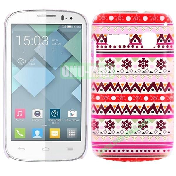 Special Pattern PC Hard Case for Alcatel One Touch Pop C3 (Tribal Pattern)