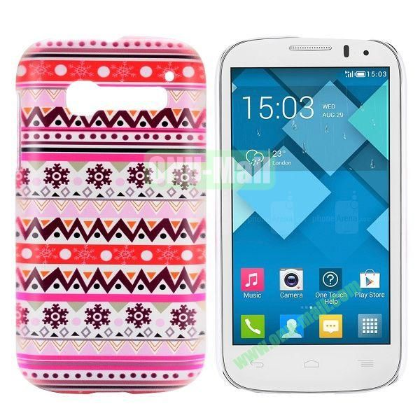 Pretty Tribal Style Pattern Hard Case for Alcatel One Touch Pop C5