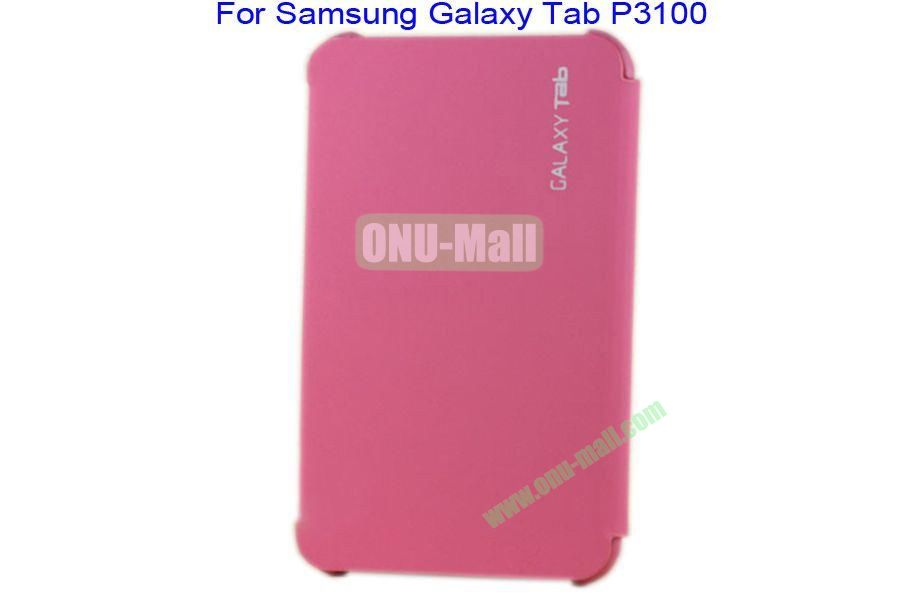Offical Style Business Affairs Type Leather Case Cover with PC Back Cover for Samsung GALAXY Tab P3100(Pink)