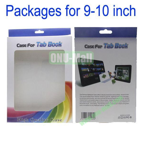 Retail Paper Color Box Packages for iPad 2the New iPadiPad 4Samsung Note 10.1Tab 10.1Asus Eee Pad TF1019-10 inch Tablets