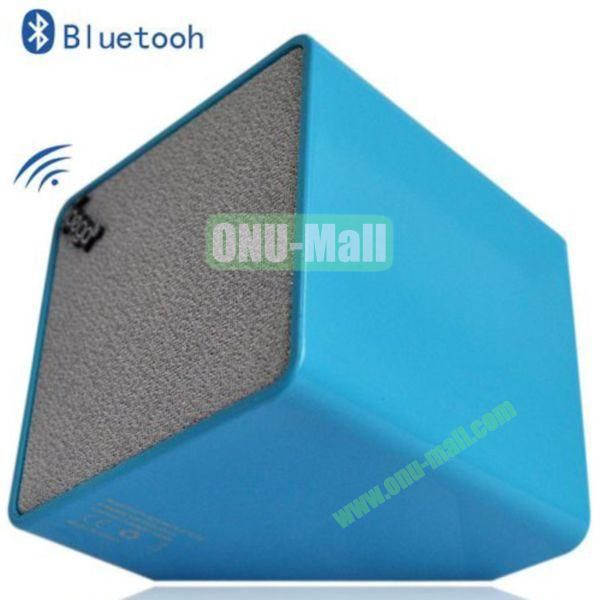 High Quality Cube Bluetooth Speaker for iPhone 4SiPhone 5iPhone 5SiPad 2iPad 4The New iPadiPhone 5C(Blue)