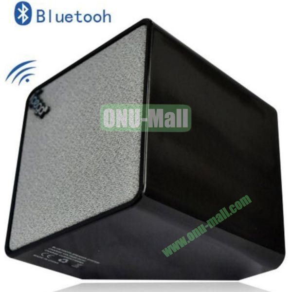 High Quality Cube Bluetooth Speaker for iPhone 4SiPhone 5iPhone 5SiPad 2iPad 4The New iPadiPhone 5C(Black)
