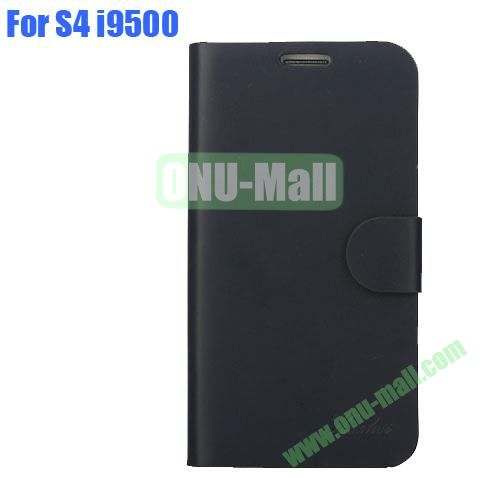 High Quality Genuine Leather Case with Card Slots And Magnetic Flip Stand Cover For Samsung Galaxy S4 SIV I9500(Grey)