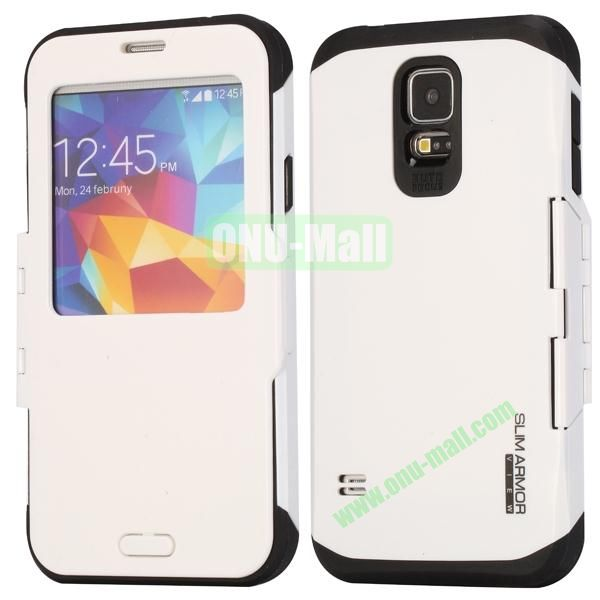 Slim Armor Hard Case for Samsung Galaxy S5 i9600G900 (White)