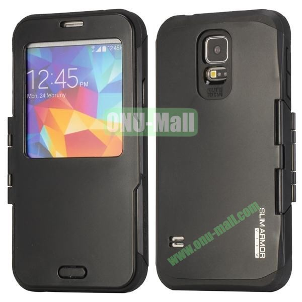 Slim Armor Hard Case for Samsung Galaxy S5 i9600G900 (Black)