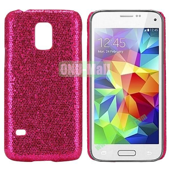 PC Hard Case for Samsung Galaxy S5 Mini SM-G800 (Rose Glitter Powder)
