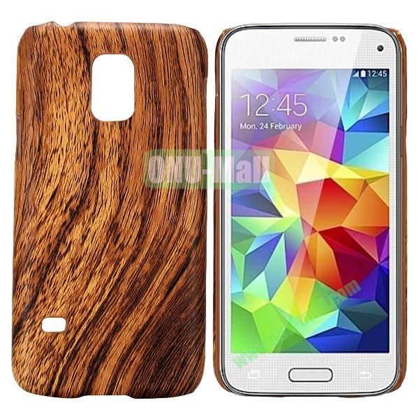 PC Hard Case for Samsung Galaxy S5 Mini SM-G800 (Wood Grain Pattern)
