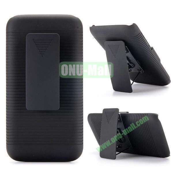 2 in 1 Belt Clip Detachable Holster Combo PC Hard Case for Samsung Galaxy S5 Mini G800 with Kickstand